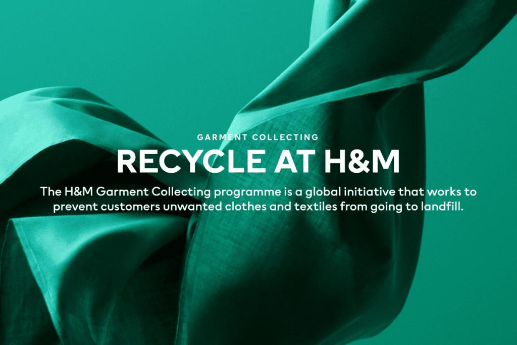 HM Group Garment Recycling Program